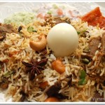 Lamb/ Mutton Biriyani and Biriyani Chammanthi – Our 100th Post