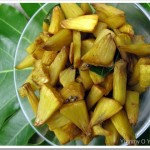 Bread Fruit Stir Fry/Sheema(Cheema)/Kadachakka Mezhukkupuratti