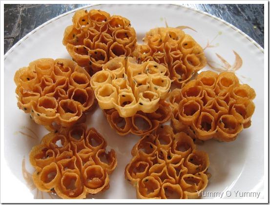 Achappam Rose Cookies