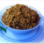 Dry Fish Chutney Powder / Unnakka Meen Chammanthi Podi