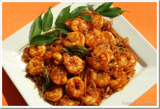 Prawn roast two versions today we have two prawn recipes to share with you all the first one is from nithas amateur perceptions where the prawns are first fried and then mixed forumfinder Images