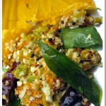 Mathappoo Thoran / Pumpkin Flower Stir fry