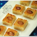 Basboosa / Basbousa / Semolina Cake – Celebration Time!!