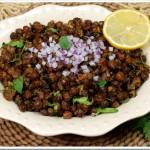 Spiced Chana / Kadala Fry / Kadala Masala