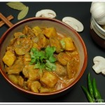 Mushroom – Potato Curry