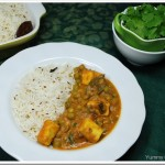 Mattar Paneer with Cumin Rice