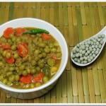 Easy Green Peas Masala (No coconut version)