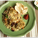Green Chicken Biriyani