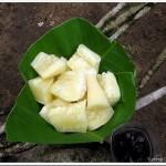 Kappa Puzhungiyathu / Boiled Tapioca with Kanthari Mulaku Chammanthi