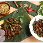 Nadan Beef Ularthiyathu / Beef Fry