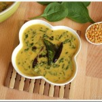Cheera Parippu Curry / Spinach and Dal Curry