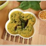 Cheera Parippu Curry / Spinach and Dal Curry