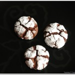 Chocolate Crinkle Cookies (Snow Caps)