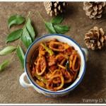 Squid (Koonthal, Kanava, Calamari) Roast