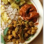 Vazhuthananga Masala Thoran / Eggplant Masala Thoran