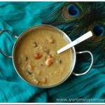 Nurukku Gothambu Payasam / Broken Wheat Payasam