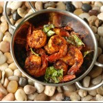 Kerala Style Prawn Fry / Nadan Chemmeen Varuthathu