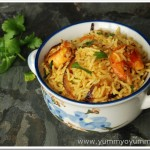 Easy Kerala style prawn fried rice