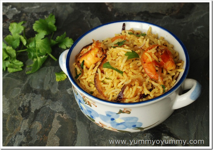 Easy kerala style prawn fried rice nadan chemmeen fried rice ingredients ccuart Choice Image