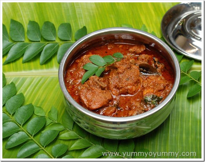 Nadan kozhi chicken curry recipe