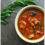 Chemmeen Curry / Kerala Style Prawn Curry