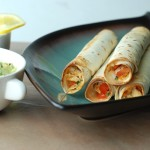 Baked Chicken Flautas (Taquitos)