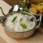 Coconut rice / Thenga Sadham / Thenga Choru