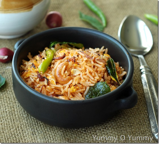 Kerala egg rice