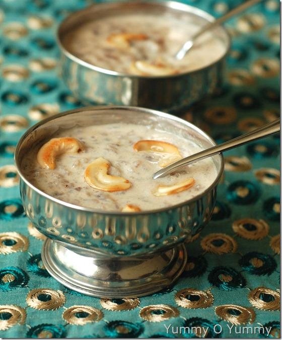 Aval Payasam / Rice flakes Payasam | Yummy O Yummy