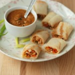 Chicken Spring Roll Dosa