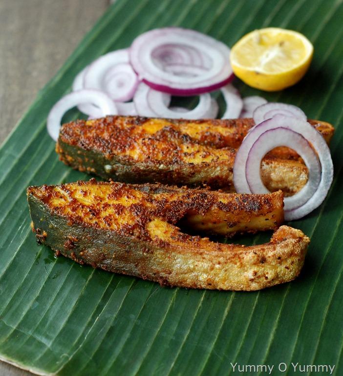 Kerala fish fry meen varuthathu for Ada s fish fry