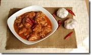 Kashmiri and garlic chilly chicken