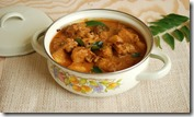 Trissur style chicken and potato curry