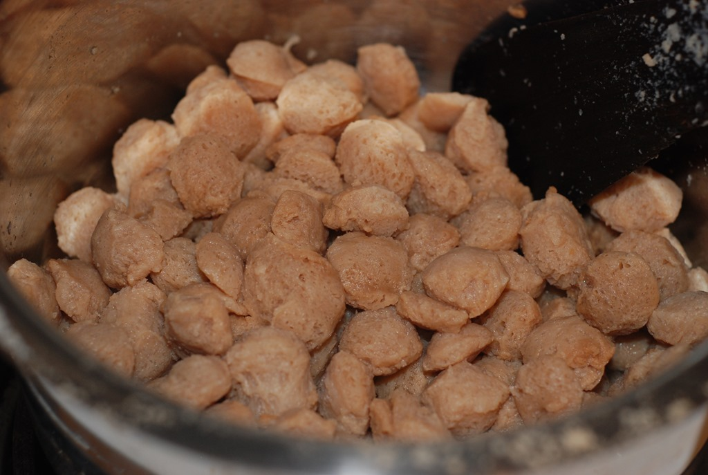 soya protein chunks how to cook