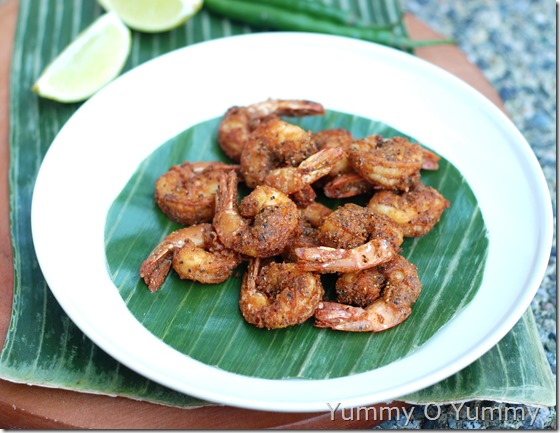 Prawn pepper fry