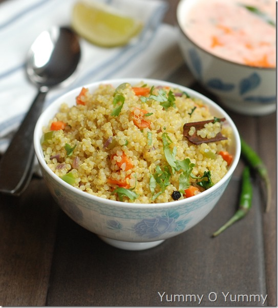 Quinoa vegetable pulav