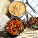 Carrot and Potato Mezhukkupuratti / Carrot and Potato Stir-fry