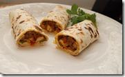 Kerala Style chicken kathi roll