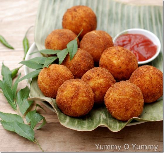 Tapioca fish balls
