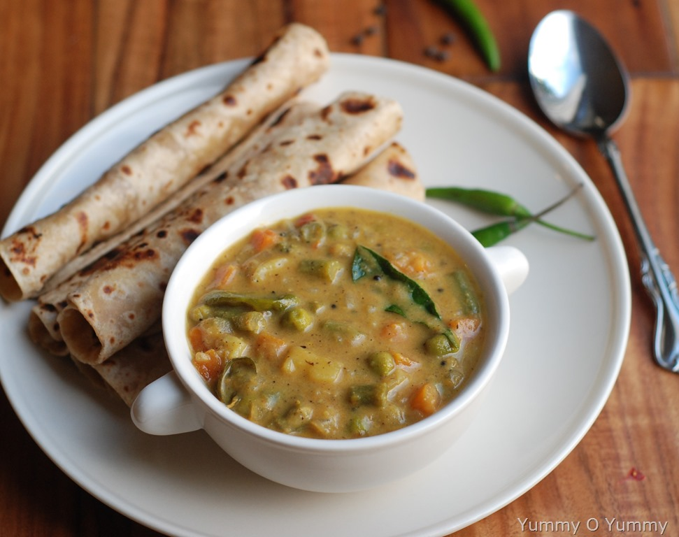 Kerala vegetable curry with coconut milk vegetable curry with coconut milk forumfinder Gallery