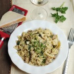 Sausage and Spinach Pesto Pasta