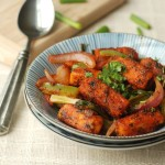 Paneer do Pyaza (Dry Version)