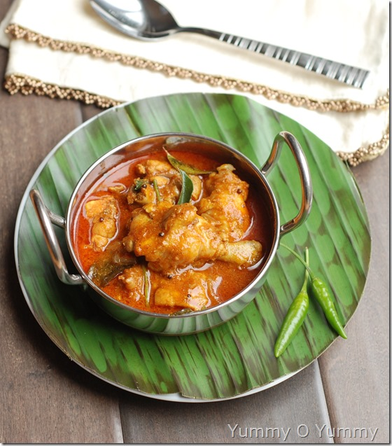 Travancore Chicken curry