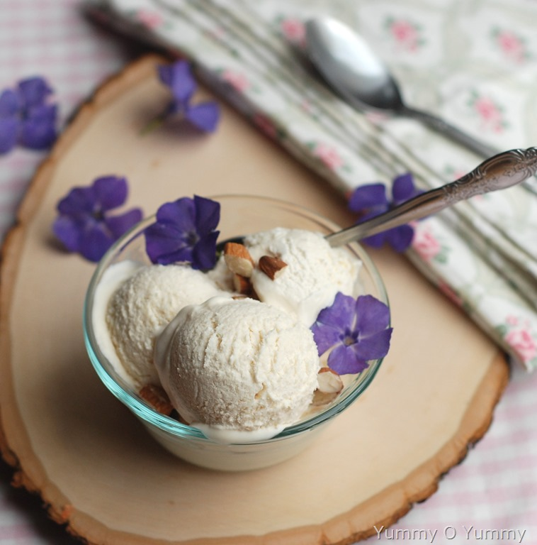 ... vanilla ice cream. Hope you all will enjoy it as much as we did