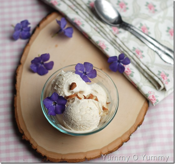 No-machine Vanilla ice cream