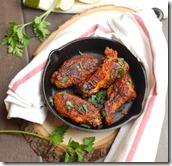 Baked masala wings