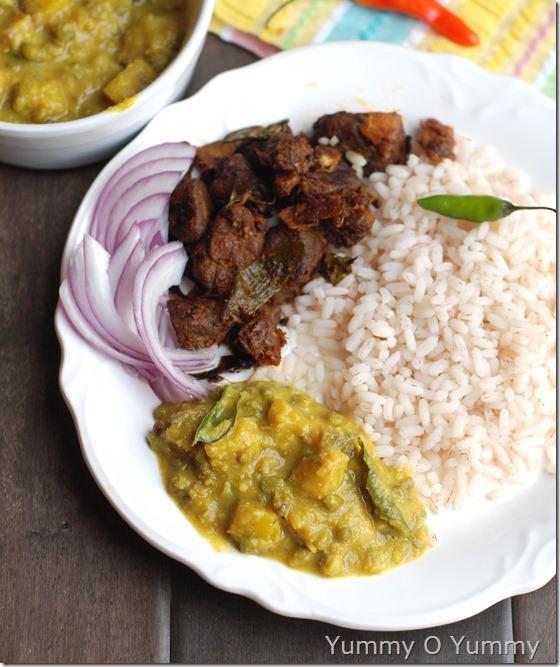 Ethakka cherupayar curry2