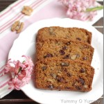 Carrot, Raisin and Walnut Bread