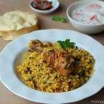 Pressure Cooker Chicken Biriyani