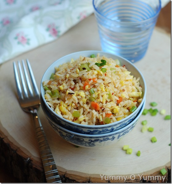 Burnt garlic fried rice - 860
